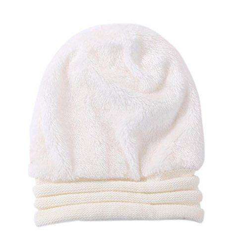 photo Wallpaper of Strickmützen---Xinan-Strickmützen Damen Hüte Winter Mütze Warm Caps Von Xinan (❤️, Weiß)-Weiß