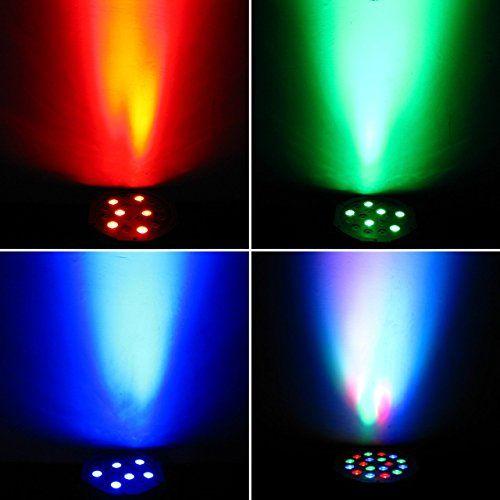photo Wallpaper of Eyourlife-Eyourlife Bühnenbeleuchtung Discolicht Bühnenlicht Par LED 30W Lichteffekt DMX512 RGB Stage Light-1 Stück