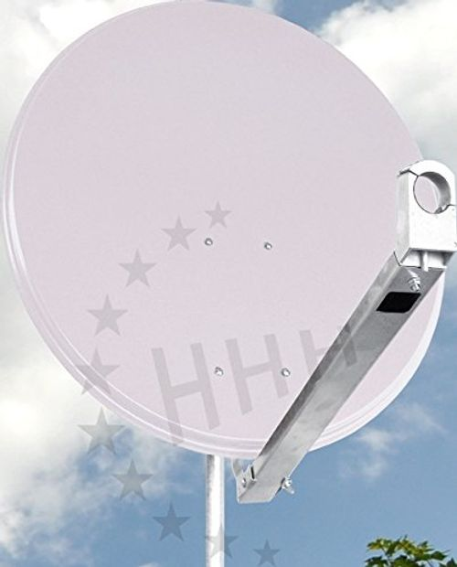 photo Wallpaper of 3H-Antennen-3H SAT 80G Stabile Präzisions  Sat Antenne 80 Cm Aluminium Hellgrau,-hellgrau