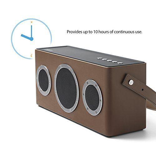 photo Wallpaper of GGMM-[Upgraded Version] GGMM M4 Tragbarer Multiroom Lautsprecher Wi Fi/ Bluetooth-braun