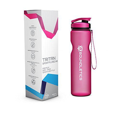 photo Wallpaper of Boundletics-Trinkflasche   Wasserflasche   Sportflasche Aus Tritan -Pink | 1.000ml