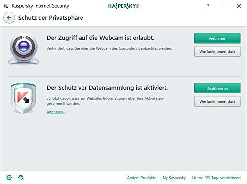 photo Wallpaper of Kaspersky Lab-Kaspersky Internet Security 2018 Standard | 3 Geräte | 1 Jahr | Windows/Mac/Android-