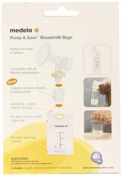 photo Wallpaper of Medela-Medela Pump And Save Breast Milk Bags, 50 Count By Medela-