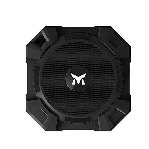 photo Wallpaper of Monstercube-Monstercube Armor Tragbarer Bluetooth Lautsprecher Kabellose Outdoor Sport Speaker Mit 5W-Black
