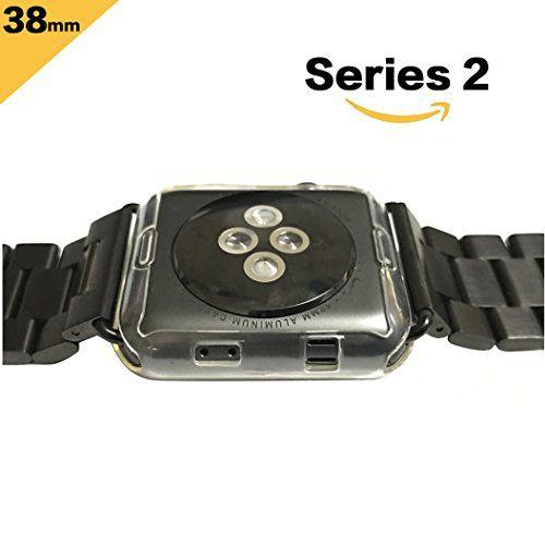 photo Wallpaper of Toeoe-Apple Watch Series 2 Hülle, Toeoe Weiche TPU Schutzhülle Tasche Case Kompletter-durchsichtig