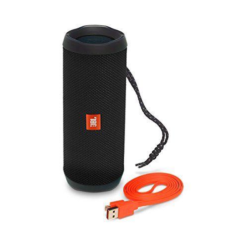 photo Wallpaper of JBL-JBL Flip 4 Mobiler Bluetooth Lautsprecher (ausgestatteter, Wasserdichter, Mit überraschend-Schwarz