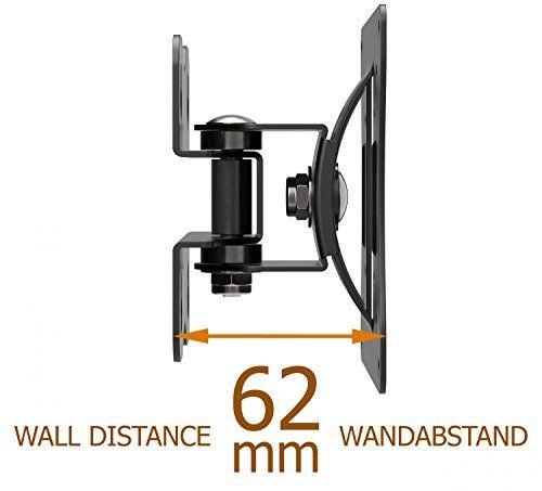 photo Wallpaper of RICOO-RICOO Monitorhalterung Wandhalterung Schwenkbar Neigbar S0711 Monitor Schwenkarm Bildschirmhalterung Wand Halterung-S0711 | VESA 100x100 | Schwarz