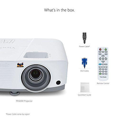 photo Wallpaper of ViewSonic-Viewsonic PA503W 3D Heimkino DLP Projektor (WXGA, 3.600 ANSI Lumen, HDMI, 2 Watt Lautsprecher,-Weiß