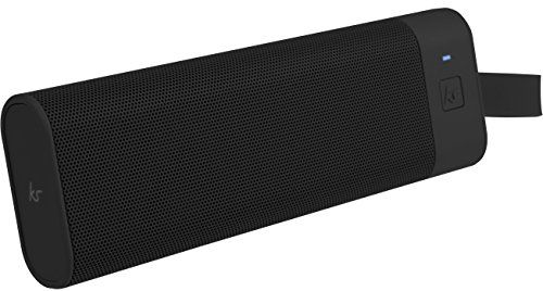 photo Wallpaper of KitSound-KitSound BoomBar+ Tragbarer Wireless Bluetooth Lautsprecher Soundsystem Mit 3.5 Audioeingang Universal-Schwarz