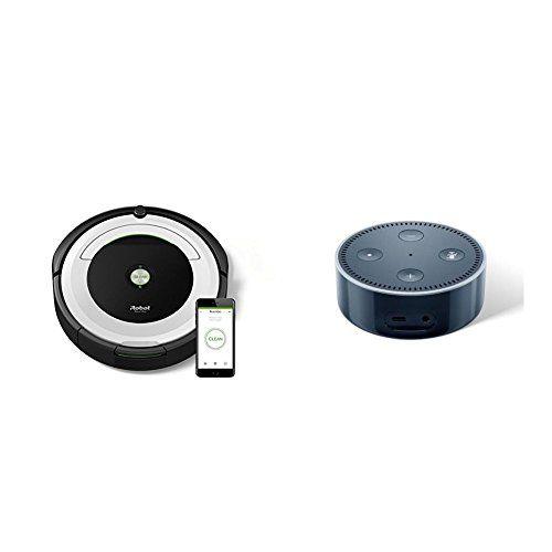 photo Wallpaper of iRobot-IRobot Roomba 691 Saugroboter (hohe Reinigungsleistung Mit Dirt Detect, Geeignet Bei Tierhaaren, WLAN-Silber