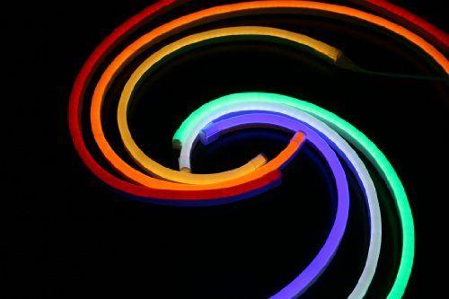 photo Wallpaper of Neo-Neon-Neo Neon LED Neon Flex Lichtband / Innen Und Außen Weiß / SMD3528-