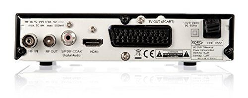 photo Wallpaper of Xoro-Xoro HRT 7522 HD DVB T Receiver (PVR Ready, HDTV, HDMI, SCART,-Schwarz