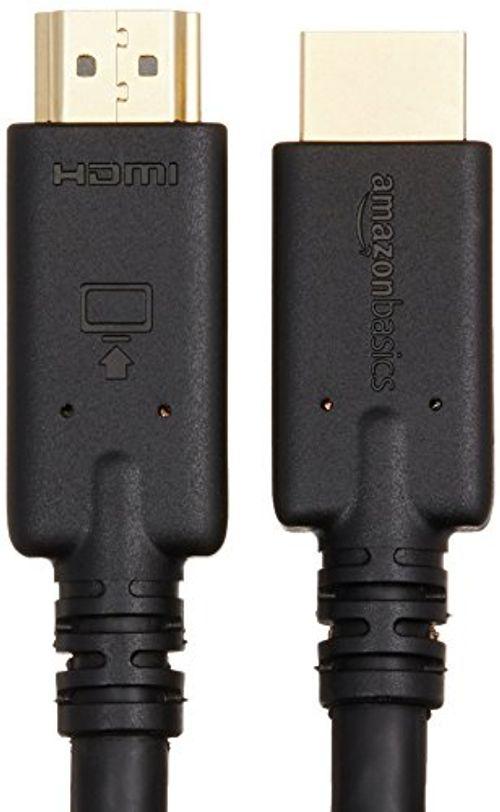photo Wallpaper of AmazonBasics-AmazonBasics   Hochgeschwindigkeits HDMI Kabel, CL3 Zertifiziert, Mit RedMere Technologie, 10,6 M-