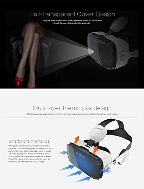 photo Wallpaper of Virtoba-BOBOVR Z4 Xiaozhai Z4 3D VR Virtual Reality Headset 3D-