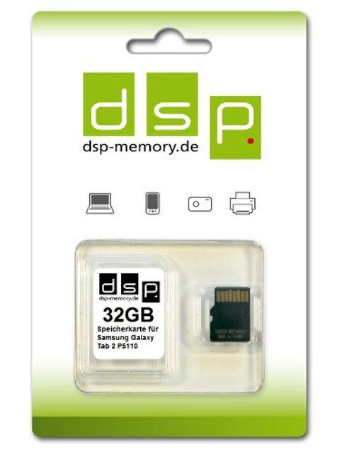 photo Wallpaper of -32GB Speicherkarte Für Samsung Galaxy Tab 2 P5110-
