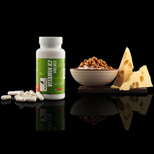 photo Wallpaper of NutriZing-★ Mejor Suplemento De Vitamina K2 ~ Alta Resistencia 600 Mcg ~ 90 Vegeterian-