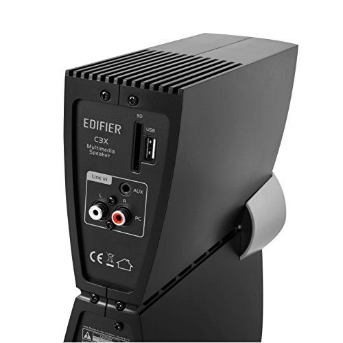 photo Wallpaper of Edifier-Edifier C3 X 2.1 Lautsprechersystem (65 Watt) Mit Infrarot Fernbedienung, Audio Wiedergabe-Schwarz