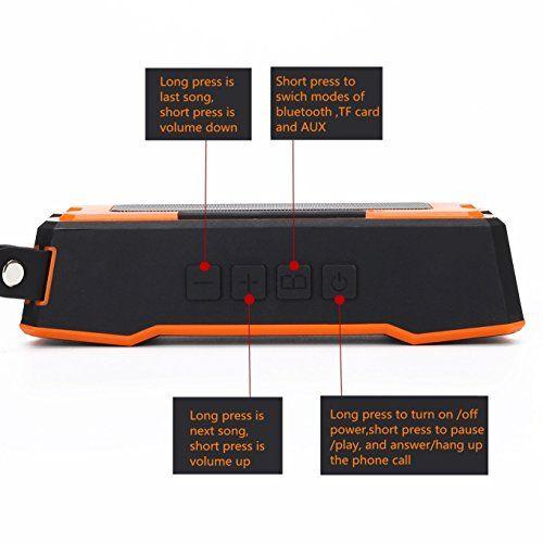 photo Wallpaper of TTPLANET-TTPLANET Bluetooth Lautsprecher Tragbare Wiederaufladbare Mini Stereo Funklautsprecher 3D Surround Kompatibel-