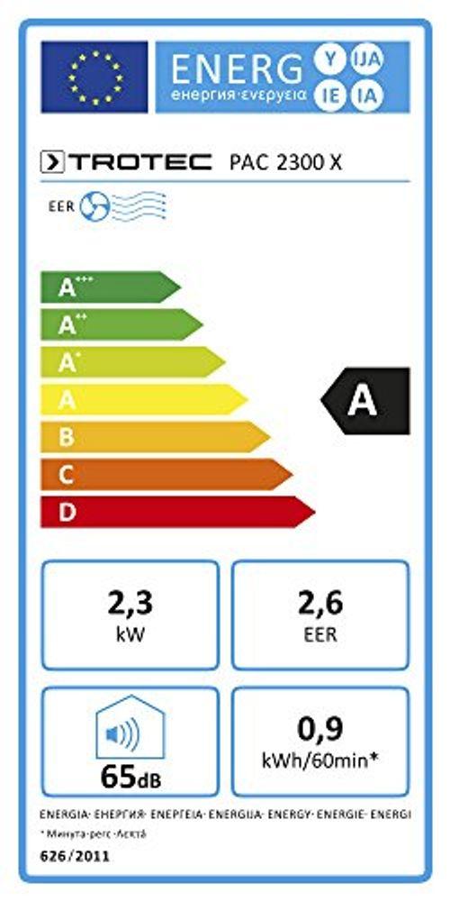 photo Wallpaper of TROTEC-TROTEC Lokales Mobiles Klimagerät PAC 2300 X Mit 2,3 KW/8.000 Btu (EEK:A) 3 In-