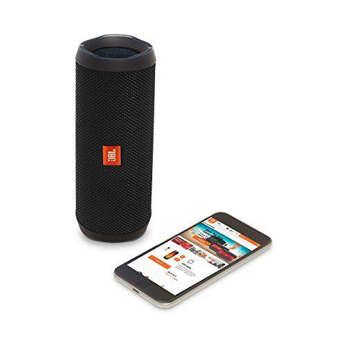 photo Wallpaper of JBL-JBL Flip 4 Mobiler Bluetooth Lautsprecher (ausgestatteter, Wasserdichter, Mit überraschend Kraftvollem Sound)-Schwarz
