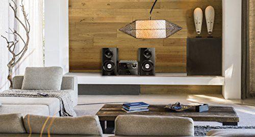 photo Wallpaper of PHILIPS AUDIO-Philips MCM2350/12 Stereoanlage 70 Watt, Bassreflex Schwarz-Schwarz
