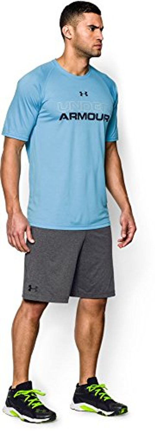 photo Wallpaper of Under Armour-Under Armour Herren Raid International Shorts, Grau, L-Carbon Heather