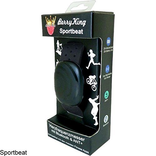 photo Wallpaper of BerryKing-Bluetooth 4.0 y ANT + Correa De Pecho Para Runtastic, Wahoo, Strava-Negro