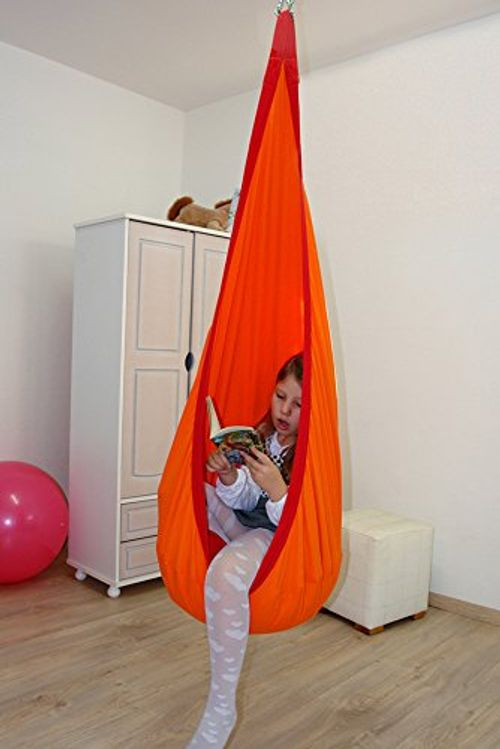 photo Wallpaper of Lola-Loli Kids Colibri DLX Kinder Hängehöhle-Orange