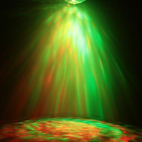 photo Wallpaper of Lixada-Lixada Disco Lichteffekte, Disco Licht Mit Fernbedienung Und Musikgesteuert 9W Bühnenbeleuchtung DJ-Blau