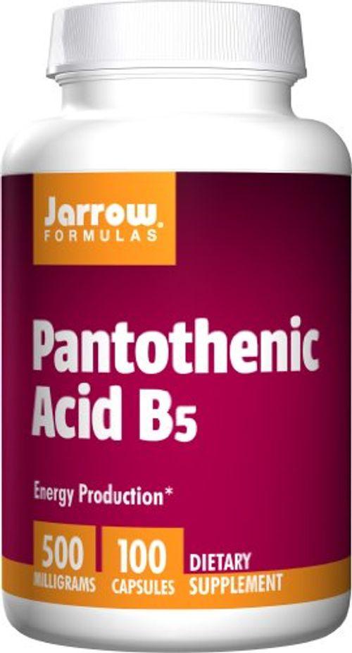 photo Wallpaper of -Jarrow Pantothenic Acid B5 (500mg, 100 Capsules)-