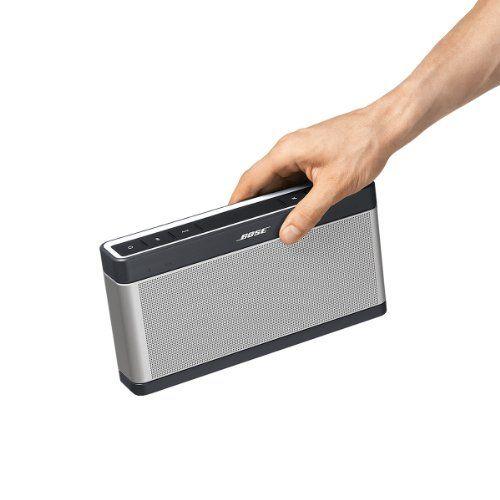 photo Wallpaper of Bose-Bose ® SoundLink Bluetooth Lautsprecher III Silber-Silber