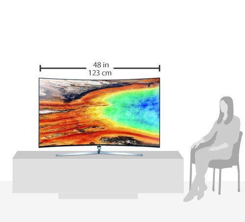 photo Wallpaper of Samsung-Samsung MU9009 138 Cm (55 Zoll) Curved Fernseher (Ultra HD, Twin Tuner,-Silber