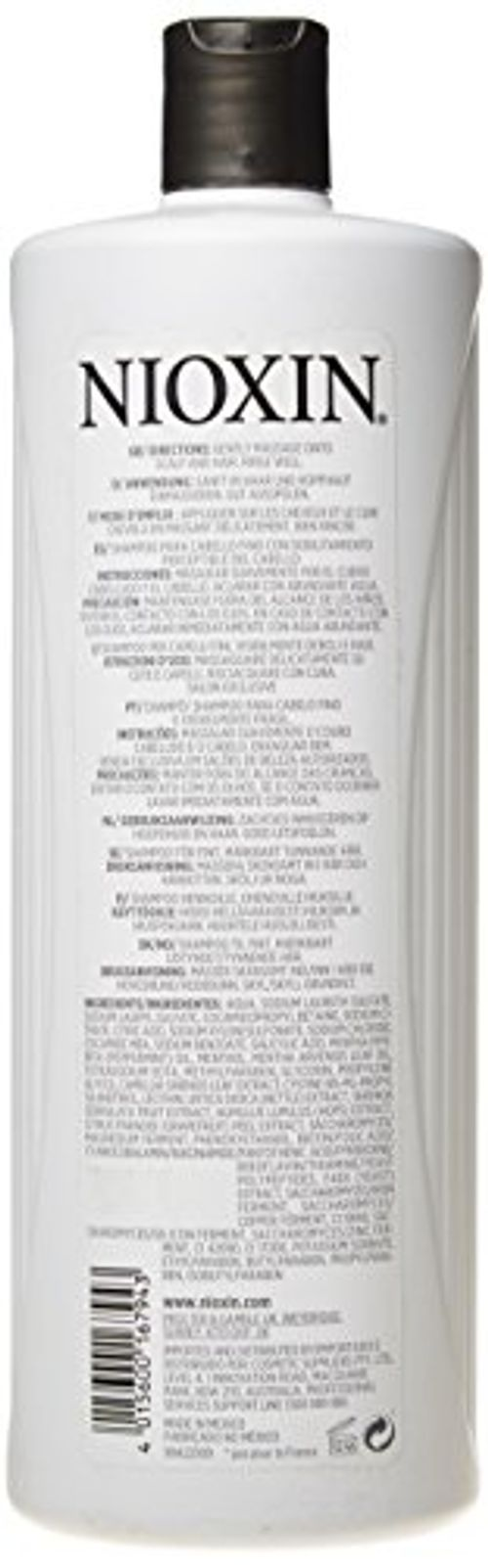 photo Wallpaper of Nioxin-Nioxin System 2 Cleanser Champú   1000 Ml-
