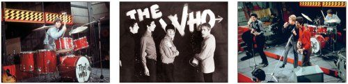 photo Wallpaper of -A Tribute To The Who: Fotografien, Live, Studio Und Backstage-
