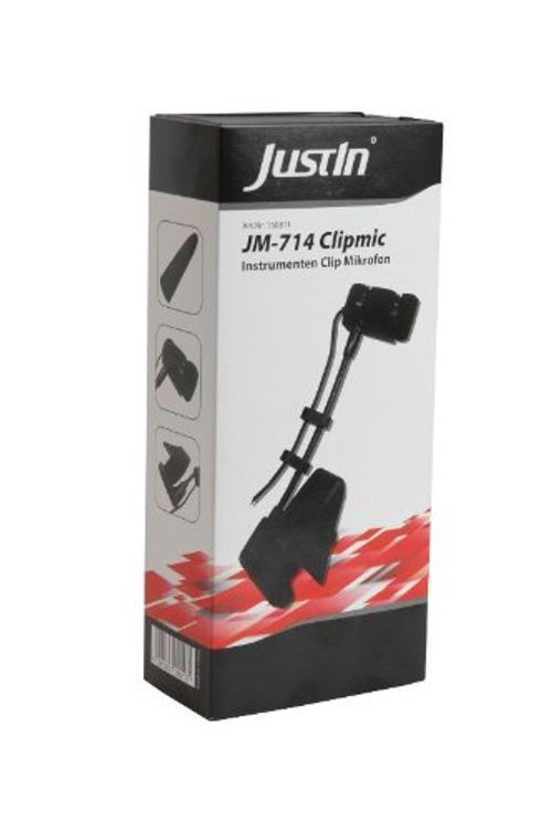 photo Wallpaper of Justin-JM 714 Clipmic Clip Instrumenten Mikrofon Mit Phantom Power-