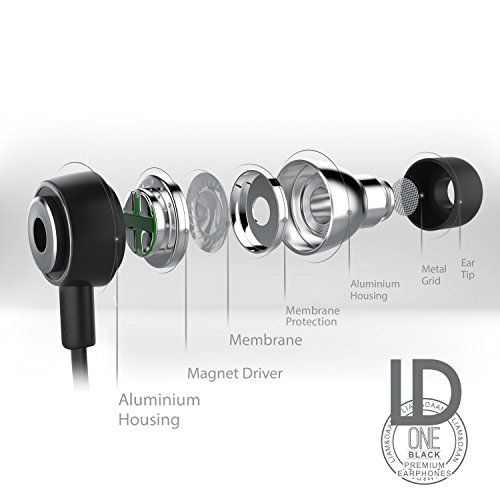 photo Wallpaper of Liam & Daan-Liam & DAAN In Ear Kopfhörer Flat Style/Alu Flat Design Earphone | 10mm-schwarz