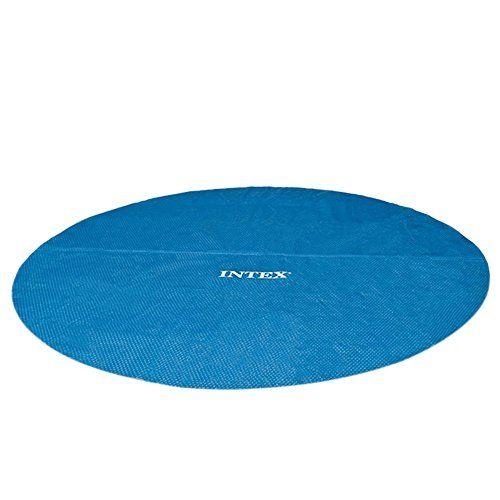 photo Wallpaper of Intex-Intex Solarabdeckplane Für Easy Frame Pool, Isolierend, Blau, Ø 366 Cm-blau