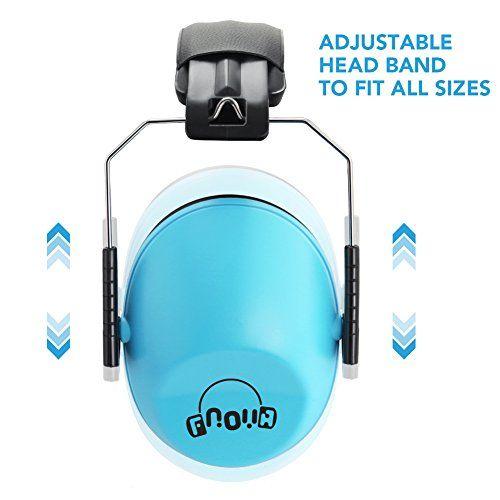 photo Wallpaper of Fnova-Niños Orejeras /Fnova Protección Auditiva Para Los Oídos,compacto Y Plegable,diadema Ajustable,Producto Ideal Para-Azul