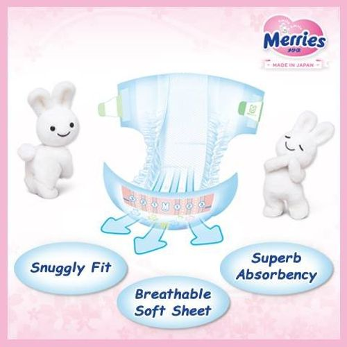 photo Wallpaper of Merries-Japanese Diapers   Nappies Merries NB (new Born) 0 5 Kg-