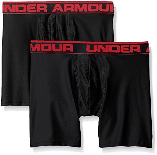 photo Wallpaper of Under Armour-Under Armour Herren SPortswear O Series 6 Zoll Unterhose-Black