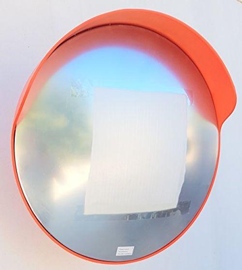 photo Wallpaper of SNS SAFETY LTD-ECM 60 O2 O Konvex Spiegel, Orange Farbe, 60 Cm Durchmesser, Für Verkehrssicherheit Und-