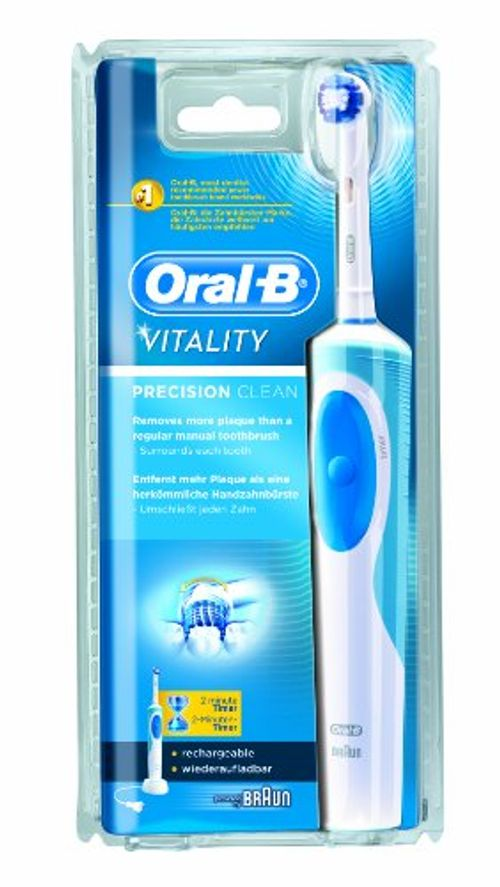 photo Wallpaper of Oral-B-Oral B Vitality Precision Clean Azul   Cepillo Eléctrico, Recargable-Azul, Color Blanco