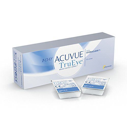 photo Wallpaper of Acuvue-Acuvue 1 Day TruEye Tageslinsen Weich, 30 Stück/BC 8.5 Mm/DIA-Farblos