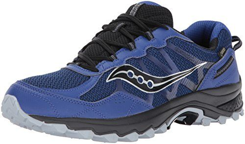 photo Wallpaper of Saucony-Saucony EXCURSION TR11 GTX Grey/Black/Blue   9,5-BLACK/GREY/BLUE