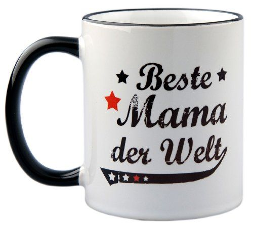 photo Wallpaper of geschenke-fabrik-Tasse / Geschenk Beste Mama Der Welt Vintage Style-