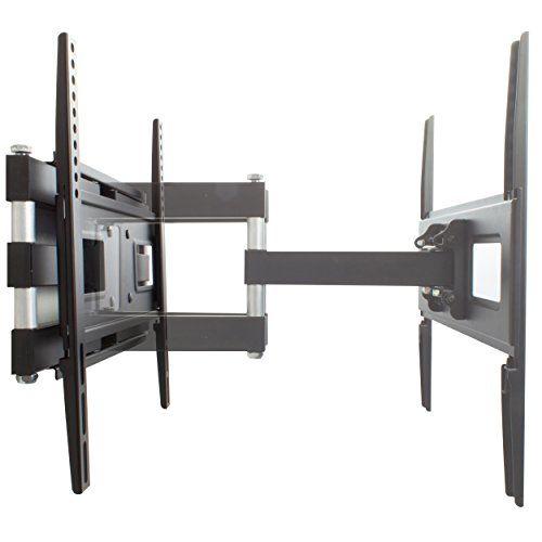 photo Wallpaper of XOMAX-XOMAX ® XM WH105 TV Wandhalterung + TÜV Geprüft + Doppelarm Wandhalter Für Plasma-schwarz