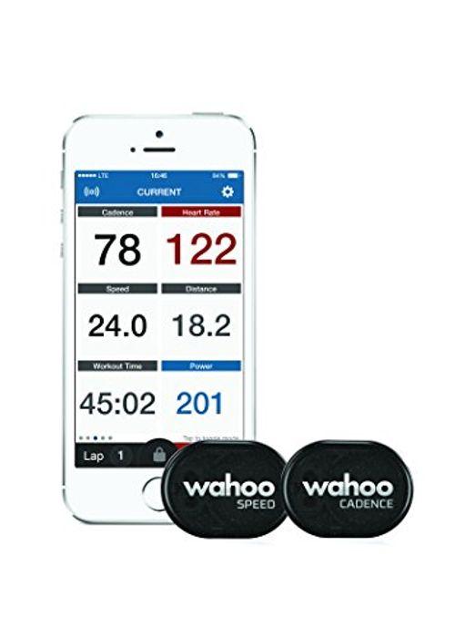 photo Wallpaper of Wahoo Fitness-Wahoo RPM Geschwindigkeits  UndTrittfrequenzsensor, Bluetooth/ANT+-schwarz