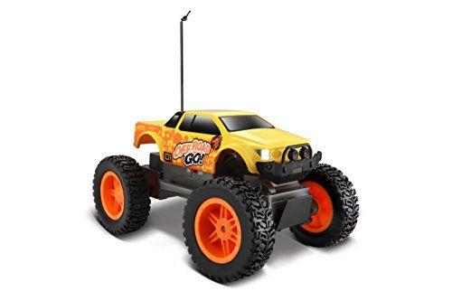 photo Wallpaper of Maisto-Maisto Tech R/C Off Road Go RTR: Ferngesteuertes Auto In Monstertruck Ausführung, Ab-Gelb-schwarz