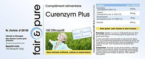 photo Wallpaper of Fair & Pure-Curenzym Plus, Enzym Komplex Mit Zeitverzögerter Freisetzung, Ohne Magnesiumstearat, 100 DRCaps,-