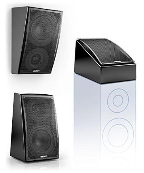 photo Wallpaper of Nubert-Nubert NuLine RS 54 Dolby Atmos Kompakt Lautsprecher 2 Wege (15cm Tieftöner,3cm Hochtöner,90/160Watt,117-Mehrsch.lack Schwarz
